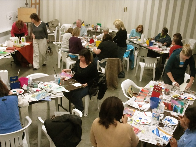 Can you feel the creativity happening in this room? It was infectious!