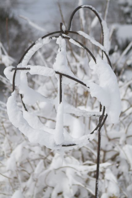 winter sculpture