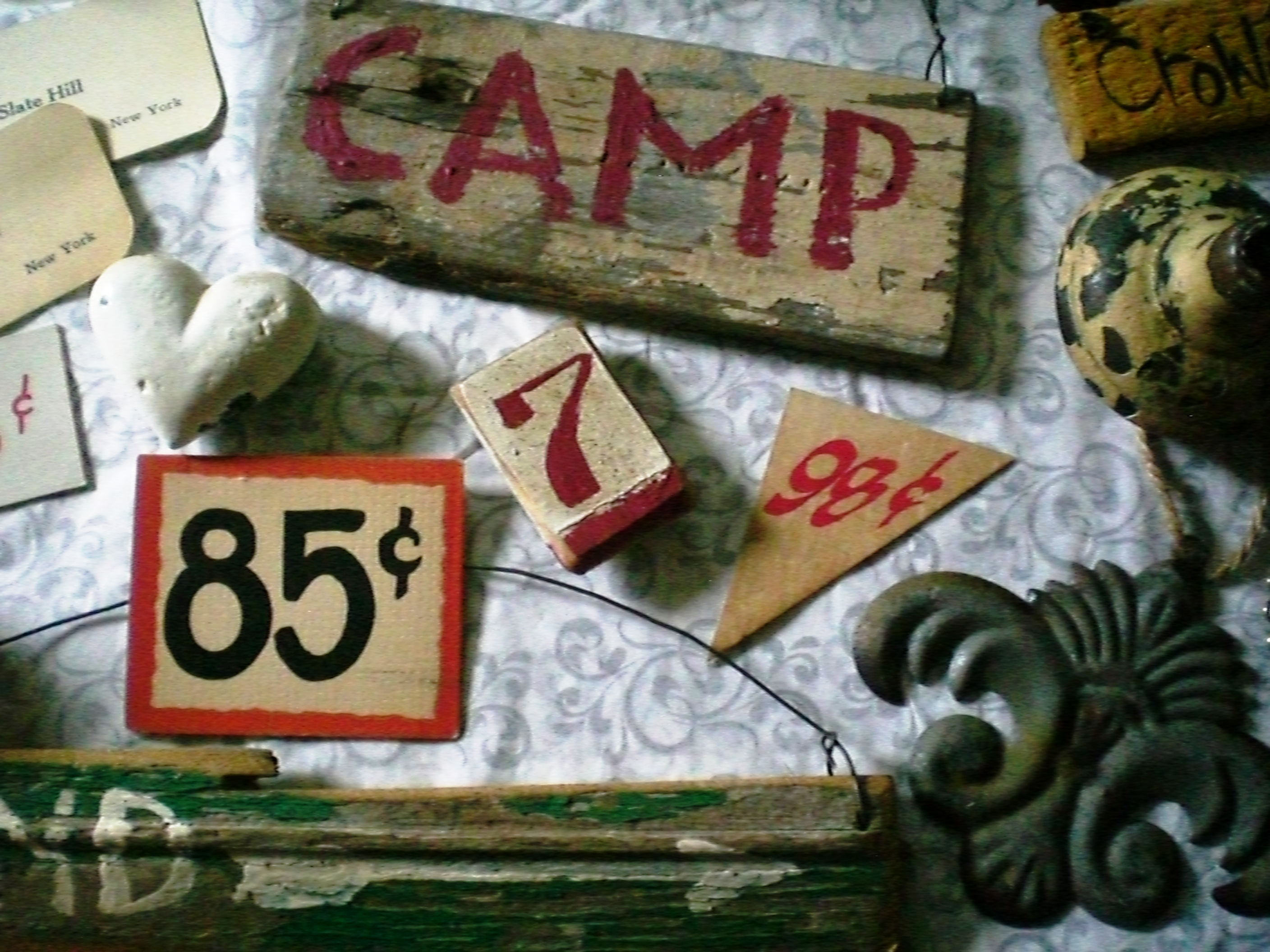 country living fair.camp sign