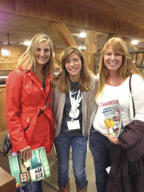 Sue, Sarah & laura. Country Living Fair