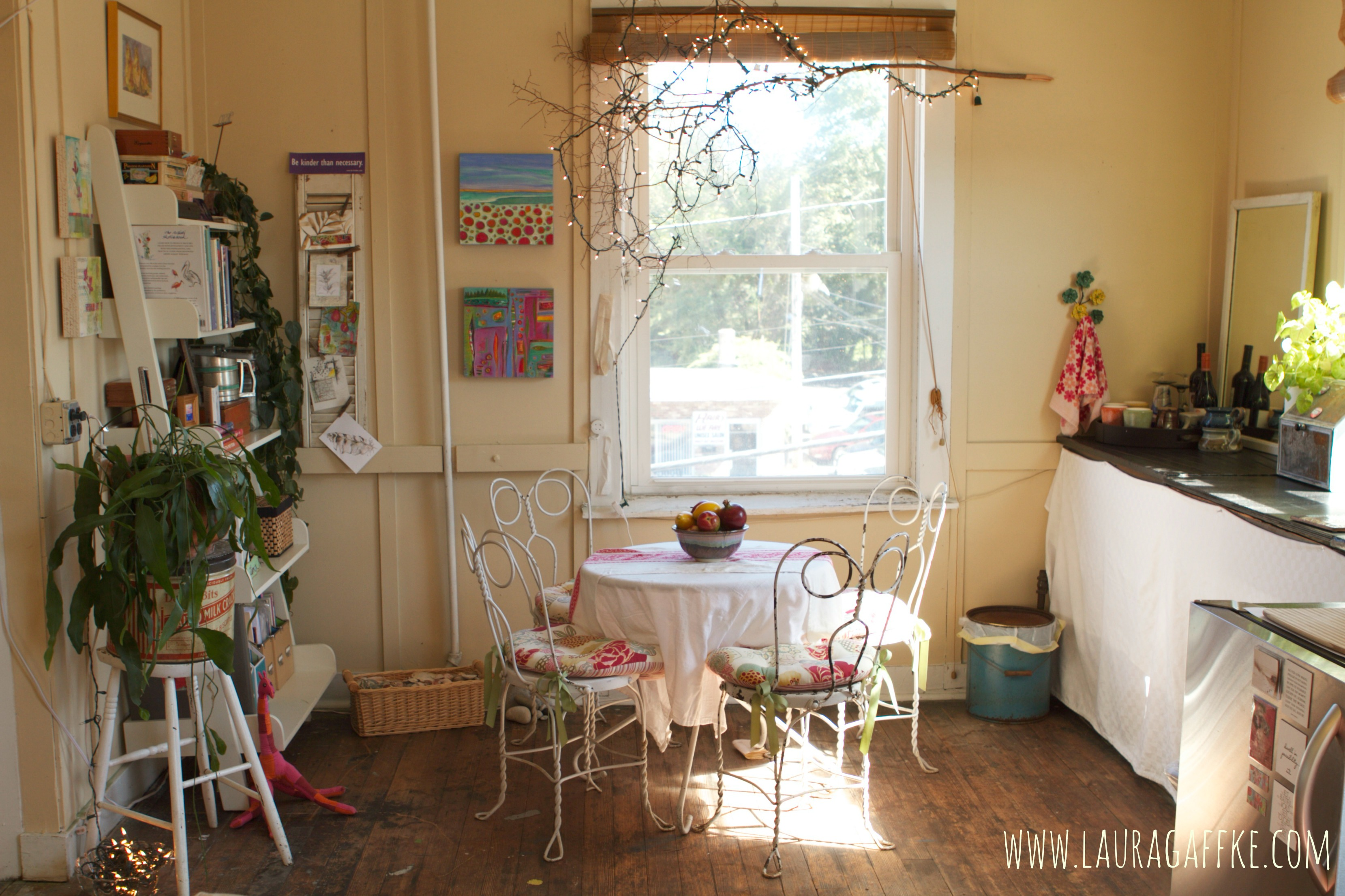 ice cream parlor nook