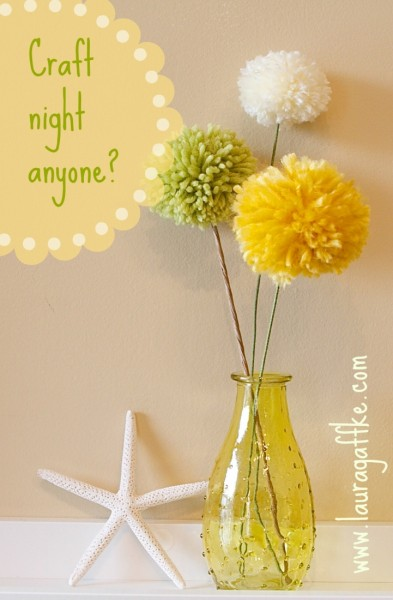 pom pom craft night