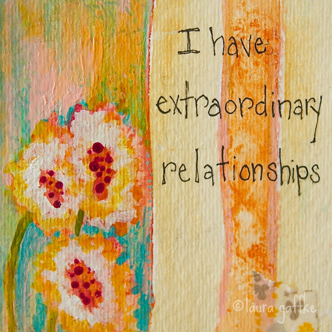 *page from my affirmation book. grateful for our friendship….