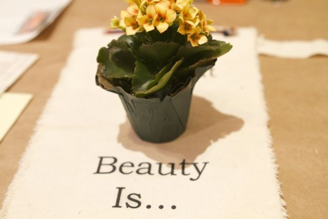 beauty is…